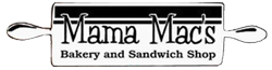 Mama Mac's Bakery Sandwich Shop Logo
